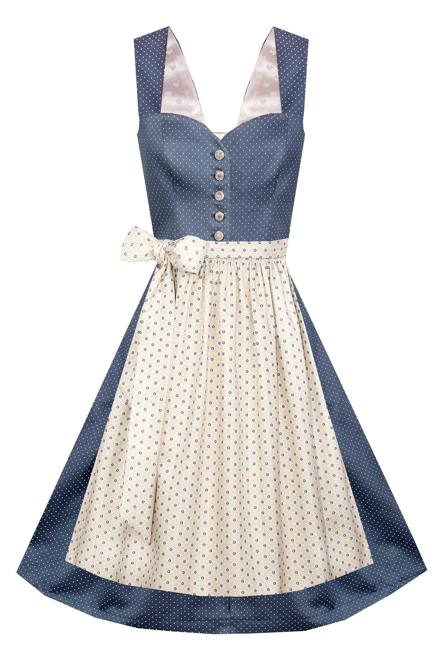 DIRNDLKLEID ROMY MIDNIGHT BLUE
