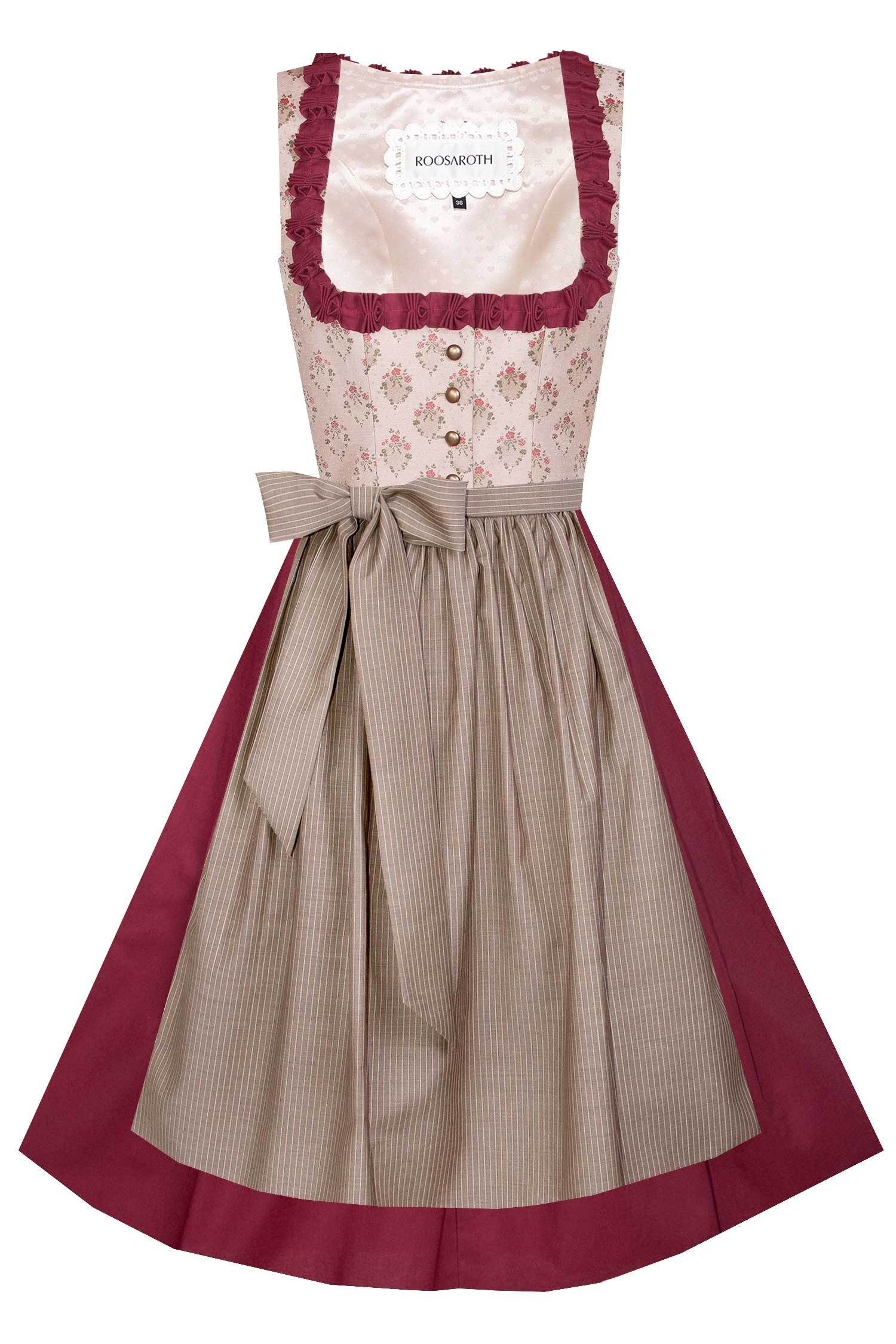 DIRNDL LUISE RUBY RED