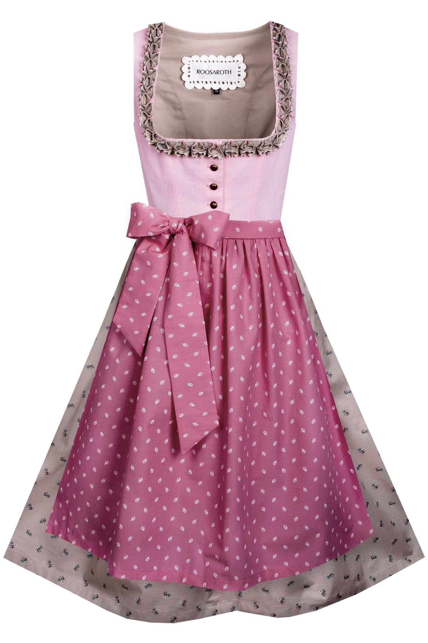 DIRNDL ALMA ROSE SHADOW