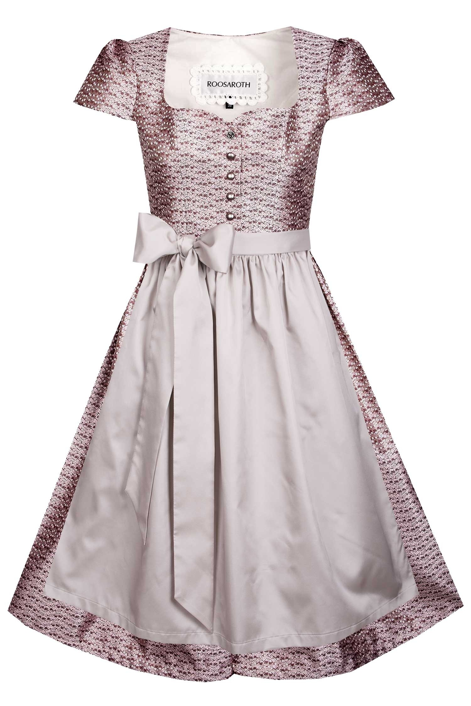 DIRNDLKLEID VIOLET ROSE DUST