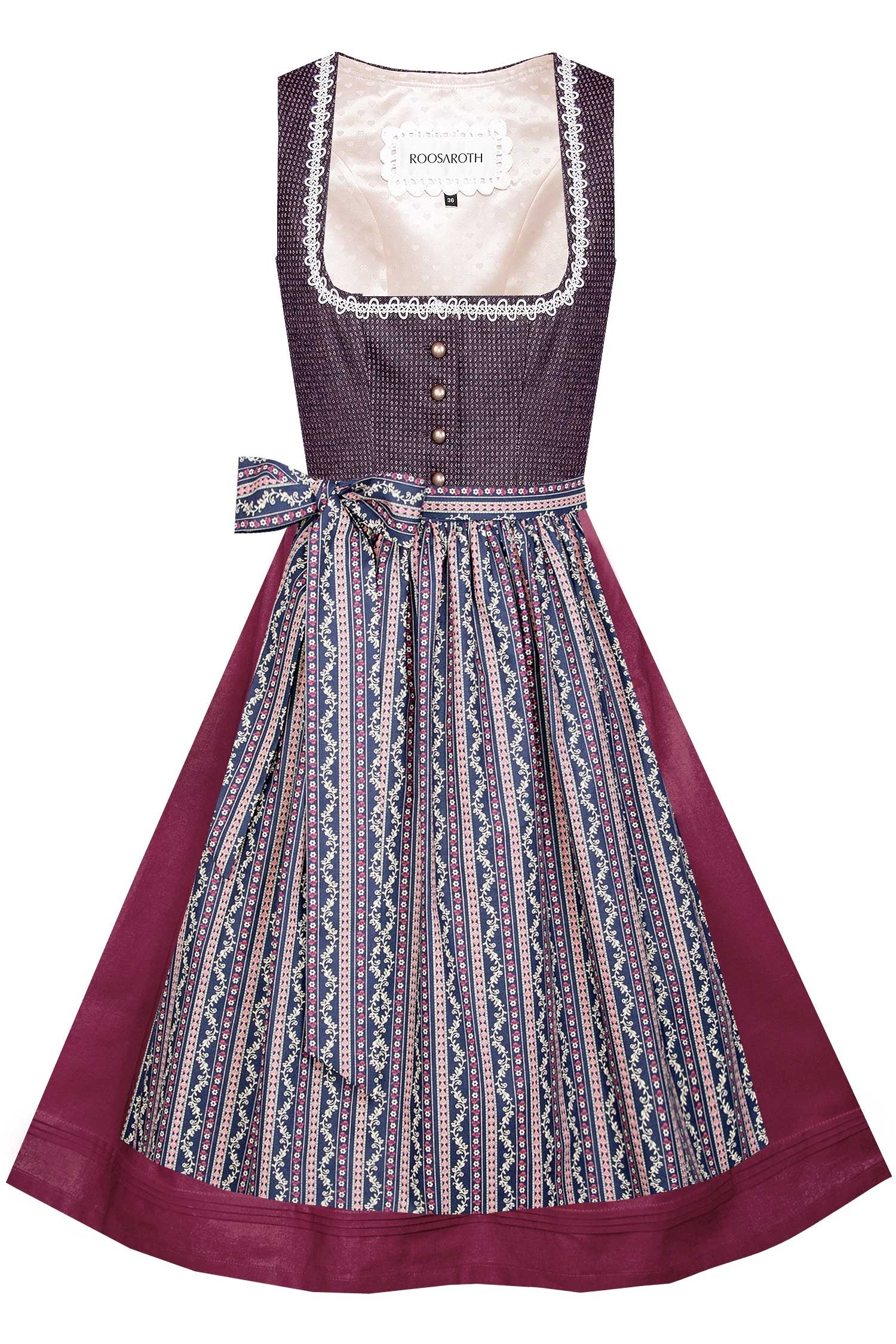 DIRNDL MARIA FLUFFY ROSE
