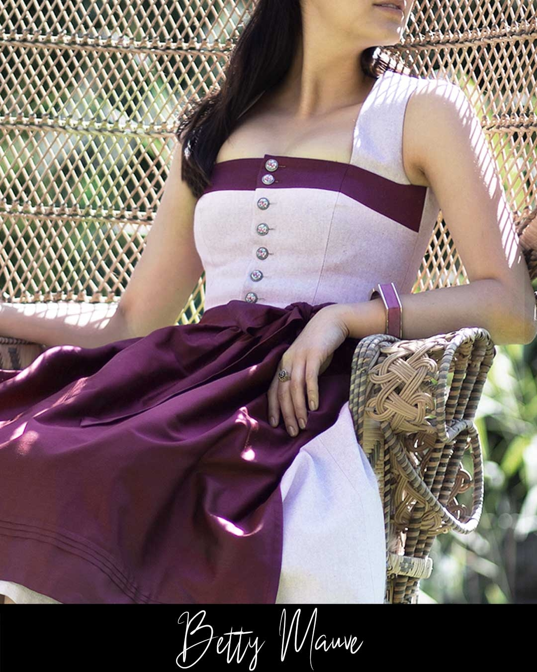 DIRNDLKLEID BETTY MAUVE
