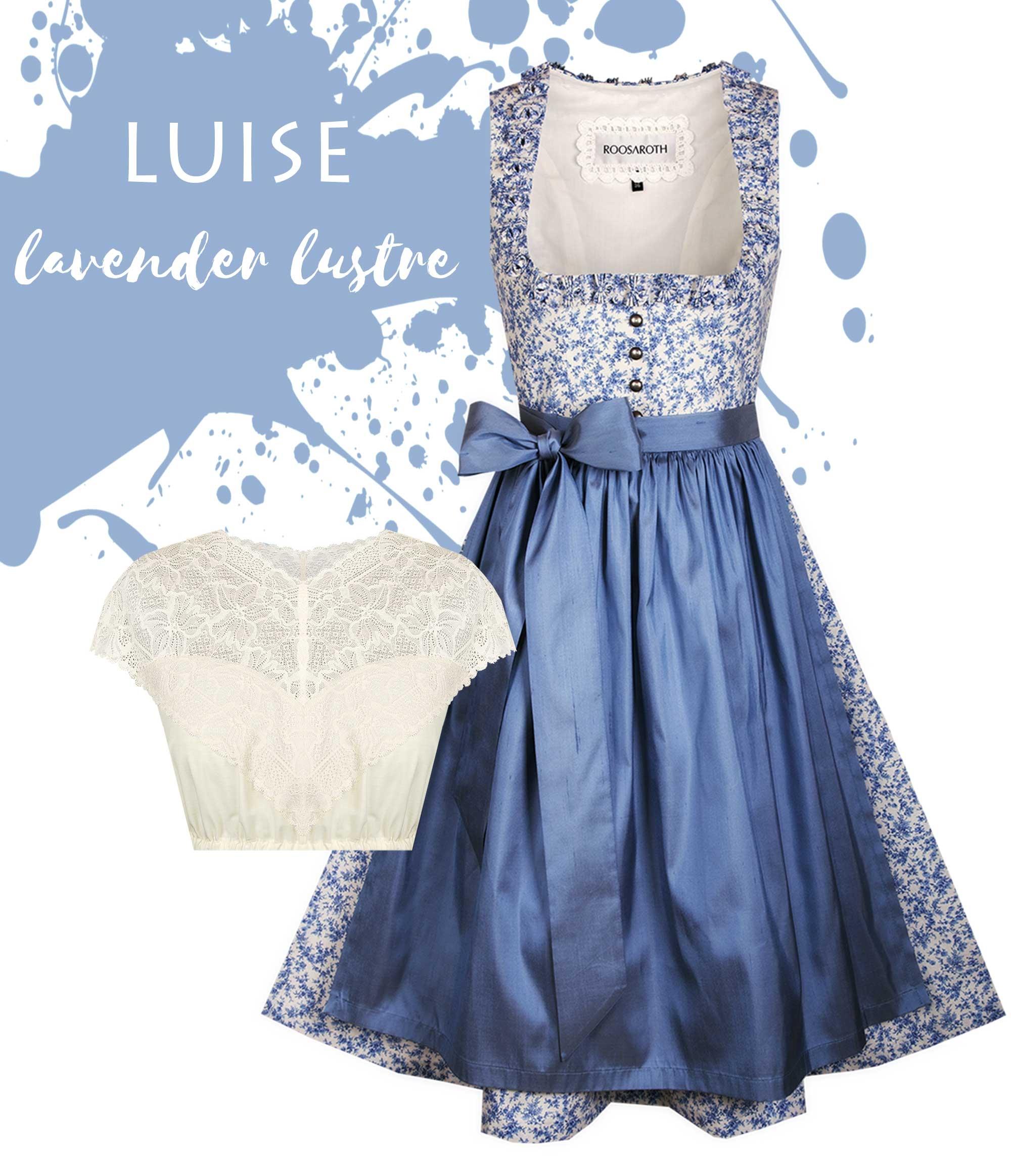 Dirndl LUISE Lavender Lustre