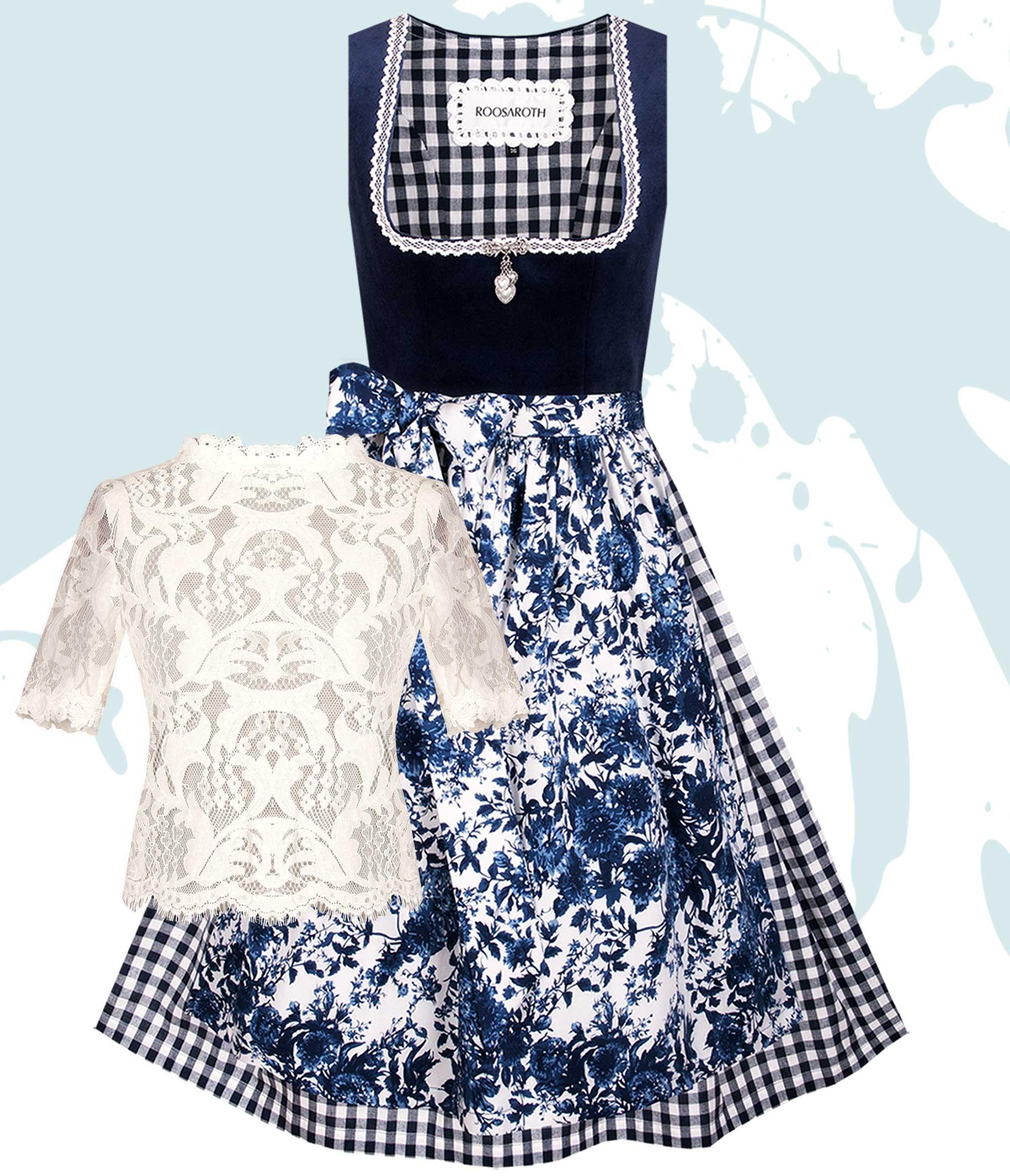 Dirndl MARIA Dress Blues
