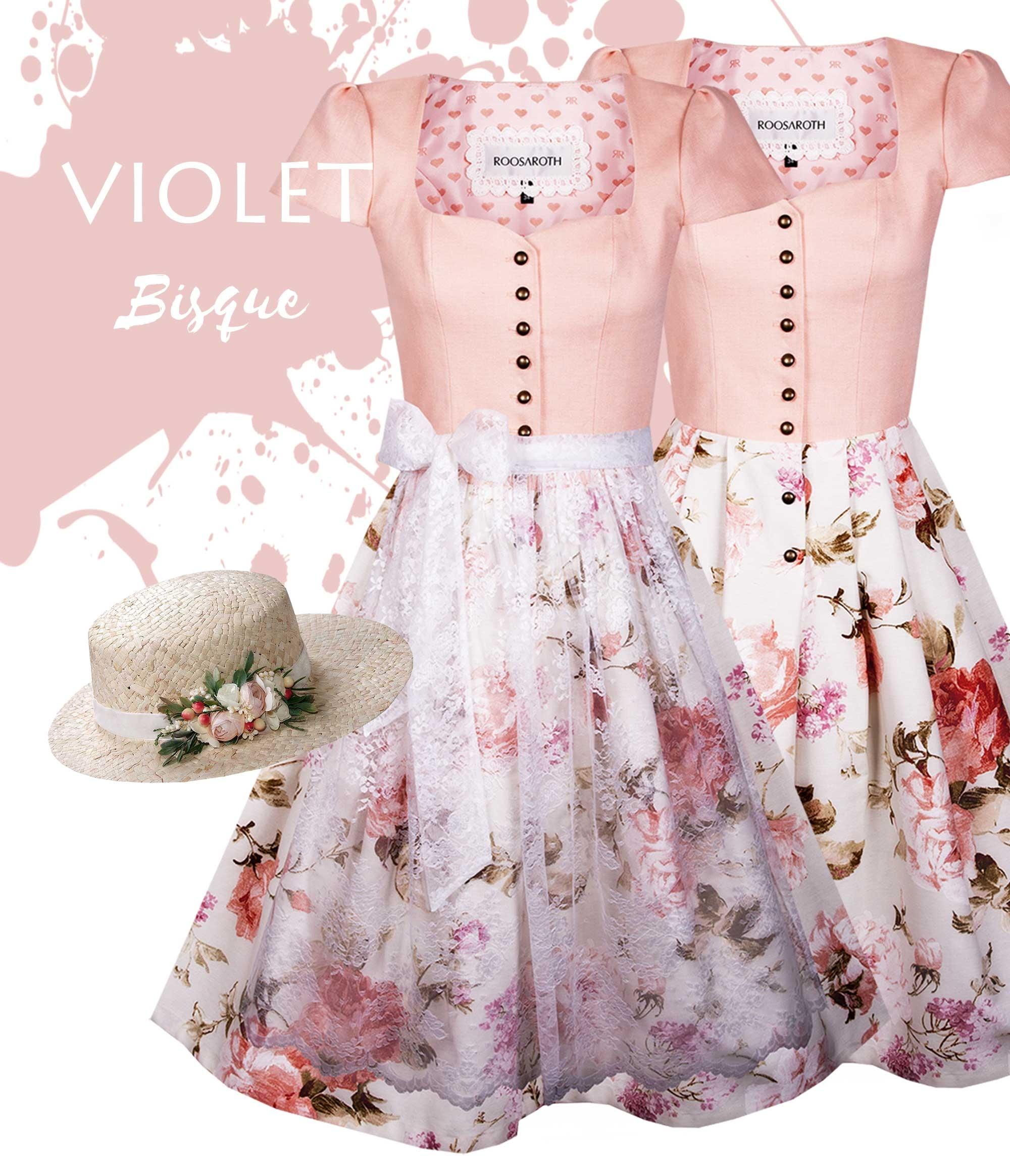 Dirndlkleid Violet Bisque